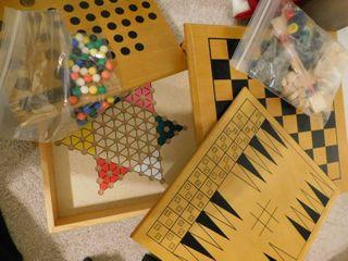 Wooden Multi Game Set