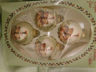 Set of Four Glass Bulbs   NEW