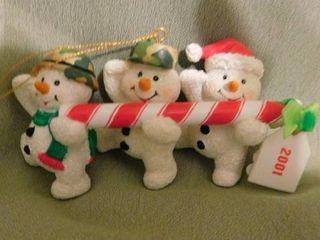 Santa Holiday Ornament