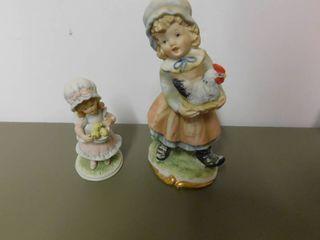 lefton Figurines  2 ea