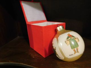 Norman Rockwell Ornament