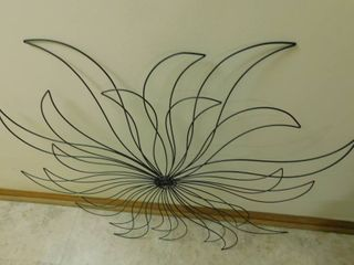 Starburst like Wire Wall Hanging