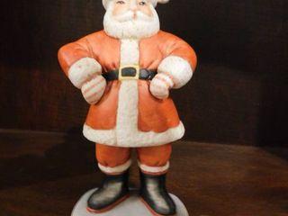 Porcelain Santa