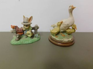 Two Narcoware Figurines