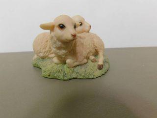 Schmid Figurine of Two lambs