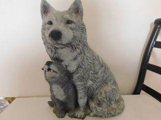 Figurine of Wolf   Cub