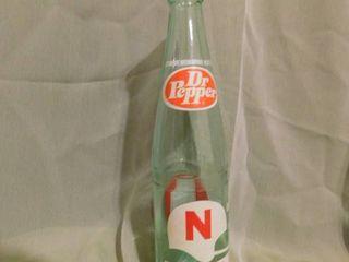 Vintage Dr  Pepper Bottle