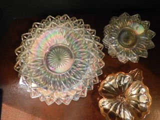 lot of Carnival Glass