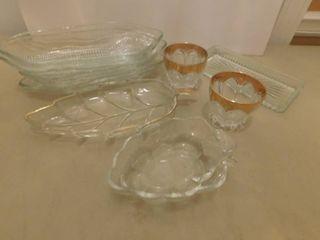 Ensemble of Glassware
