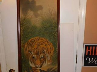 Chinese Picture on Silk