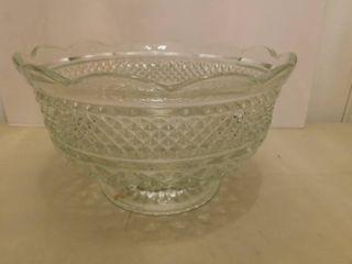 Vintage Depression Glass Bowl