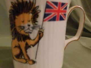 Vintage British Flag Coffee Cup
