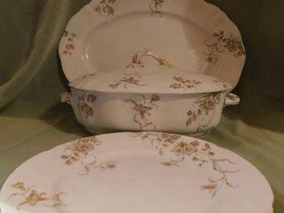 English Platter   Bowl
