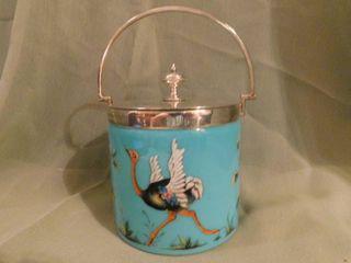 Antique English Biscuit Basket