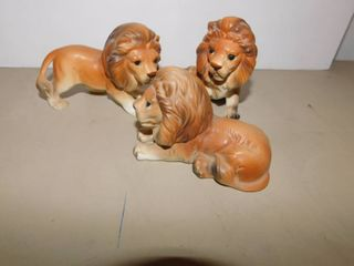 Three lefton lions