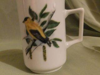 Coffee Cup w Bird