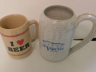 Beer Mugs  2 ea