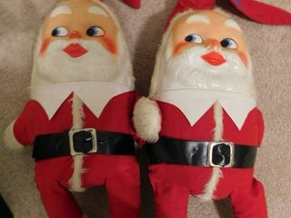 Two Santa Collectables