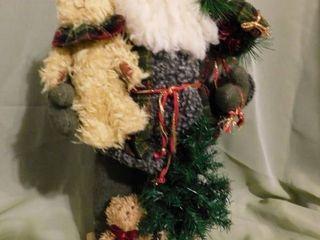 Santa with his Teddy Bears