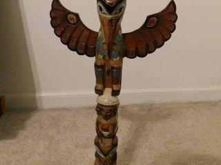 Totem Pole made in Alaska