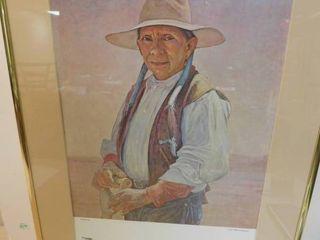 Framed Poster   Taos American Indian Arts Festival