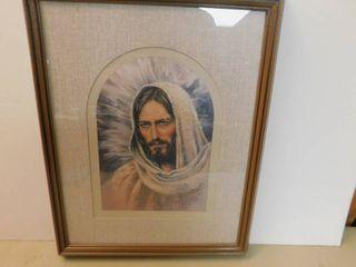 Framed Picture   Jesus