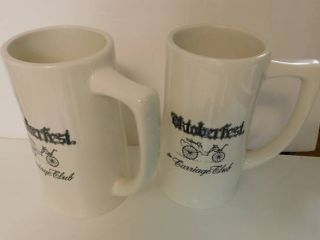 Octoberfest Mugs  2 ea