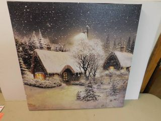 light Up Painting on Canvas