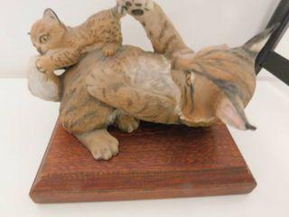 Bobcat Figurine