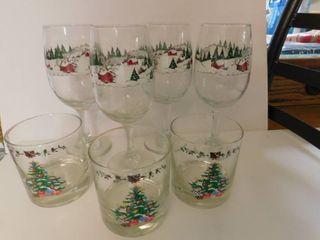 Christmas Drinking Glasses