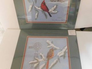 Tammy Shoaly Watercolor Reproductions  2 ea