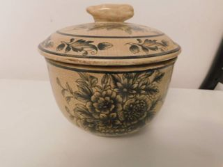 Jar with lid from China