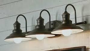 Allen   Roth Finley 3 light Bronze Coastal Vanity light 1362628 kag1393a