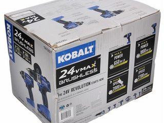 Kobalt 24V MAX Brushless 2 Tool Combo Kit  0672827