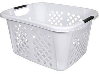 Home logic 1 5 Bu laundry Basket  White