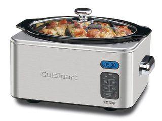 6 5 Quart Programmable Slow Cooker