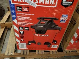Craftsman 12 Gallon 6 0 HP Wet Dry Vac