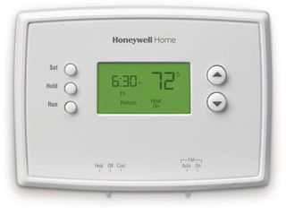 Honeywell RTH2510B1018 White 7 Day Programmable Thermostat With Backlight