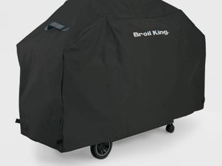 Broil King Select Series 51 In  Black Polyester Grill Cover 67470