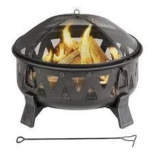 Garden Treasures Wood Burning Fire Pit  A301002800