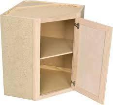 Diagonal Conrner Wall Cabinet