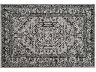 2 6 x4  Aldwin Accent Rug Silver Black