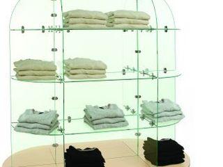 3  Glass Display Shelves