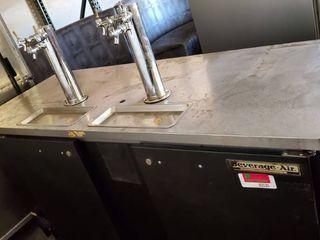 Beverage Air 2 Keg Kegerator