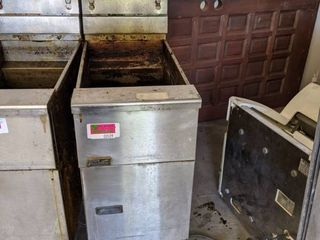 2  Pitco Gas Frialator Fryer On Casters