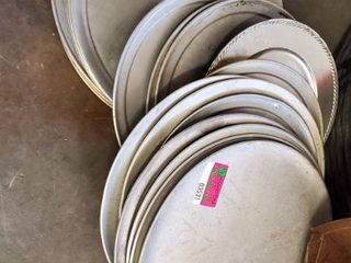 Various Sizes Of Pizza Pans
