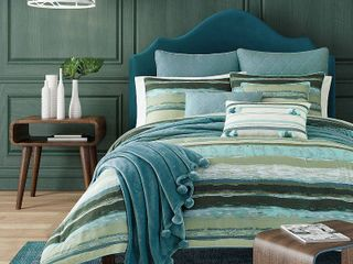 J by J Queen Cordoba King 3pc  Comforter Set Bedding