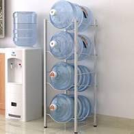 Heavy Duty Jug Holder Water Bottle Storage Rack  4 Tier 5 Tier