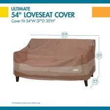 Duck Covers Ultimate Patio loveseat Cover
