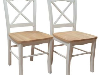 Target Dining Chair  TMS Tiffany Dining Chair   Natural White  Set of 2